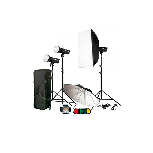 کیت فلاش چتری استودیویی ۲۰۰ ژول S&S TC-200
