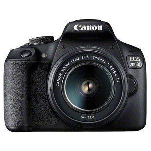 دوربین عکاسی کانن canon 2000D با لنز ۵۵-۱۸ DC III