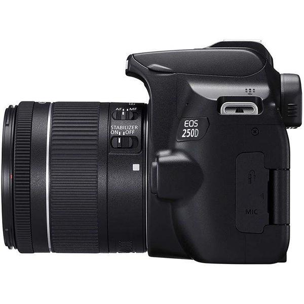 دوربین عکاسی کانن Canon 250D با لنز ۵۵-۱۸ III