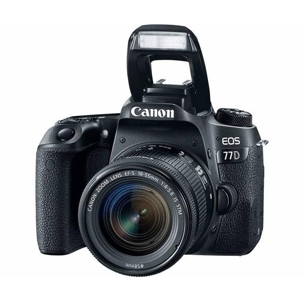 دوربین عکاسی کانن Canon 77D با لنز ۵۵-۱۸ STM