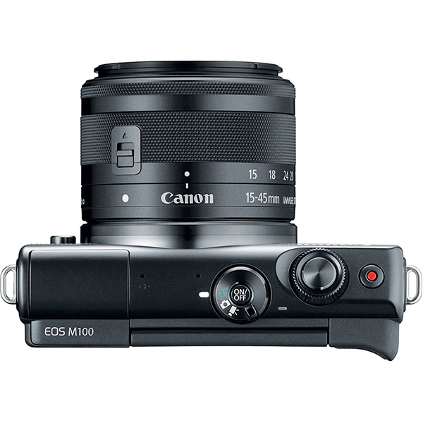 دوربین بدون آینه کانن Canon EOS M100 Mirrorless 15-45mm IS STM