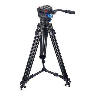 سه پایه دوربین حرفه ای جیماری Jmary Tripod Video PH20+LF85