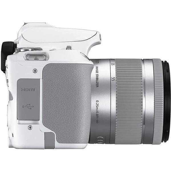 دوربین عکاسی کانن Canon 250D با لنز ۵۵-۱۸ IS STM – سفید