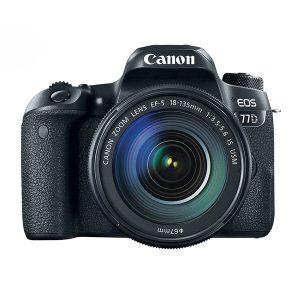 دوربین عکاسی کانن Canon 77D با لنز ۱۳۵-۱۸ IS USM