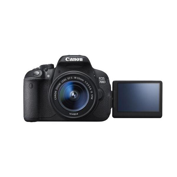 دوربین عکاسی کانن Canon 700D با لنز ۵۵-۱۸ stm (کارکرده)