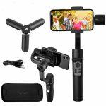 لرزشگیر و پایه نگهدارنده موبایل هوهم پلاس مدل + iSteady Mobile