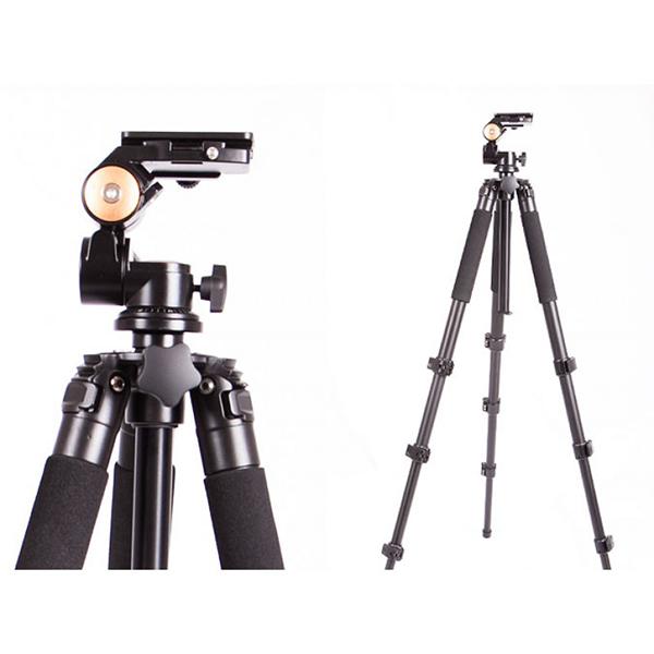 سه پایه دوربین نیمه حرفه ای بیک Beike Tripod BK-620