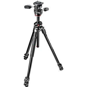 سه پایه دوربین حرفه ای مانفروتو Manfrotto 290 Dual MK290DUA3-3W