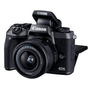 دوربین بدون آینه کانن Canon EOS M5 Mirrorless با لنز ۴۵-۱۵