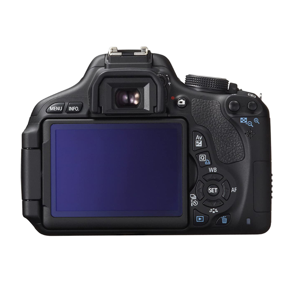 دوربین عکاسی کانن Canon 600D با لنز ۵۵-۱۸ IS II (کارکرده) (kiss X5)