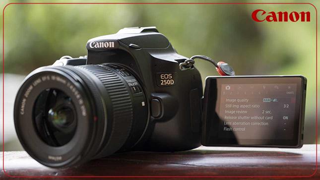 دوربین عکاسی کانن Canon 250D با لنز ۵۵-۱۸ IS STM