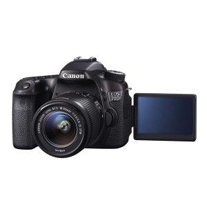 دوربین عکاسی کانن Canon 70D با لنز ۵۵-۱۸ IS STM