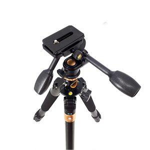 سه پایه دوربین نیمه حرفه ای بیک Beike Tripod Q600 T