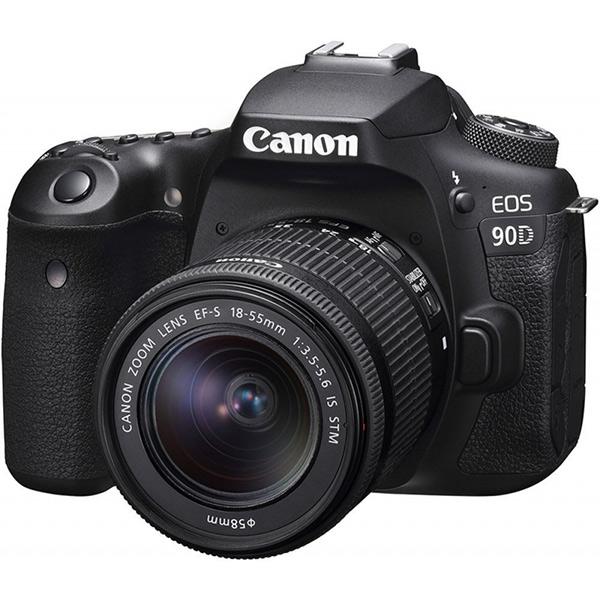 دوربین عکاسی کانن Canon 90D با لنز ۵۵-۱۸ STM