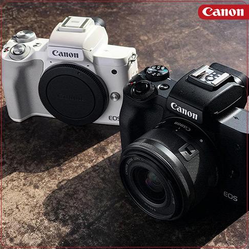 کانن Canon EOS M50 kit 15-45mm
