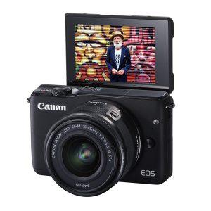 دوربین بدون آینه کانن Canon EOS M10 Mirrorless 15-45mm