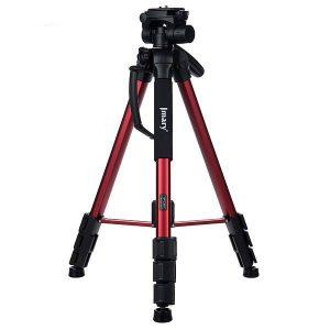 سه پایه دوربین خانگی جیماری Jmary Tripod KP-2264 – Red