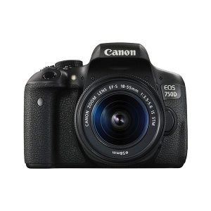 دوربین عکاسی کانن Canon 750D (تایوان) با لنز ۵۵-۱۸ IS STM