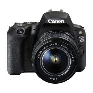 دوربین عکاسی کانن Canon 200D با لنز ۵۵-۱۸ III