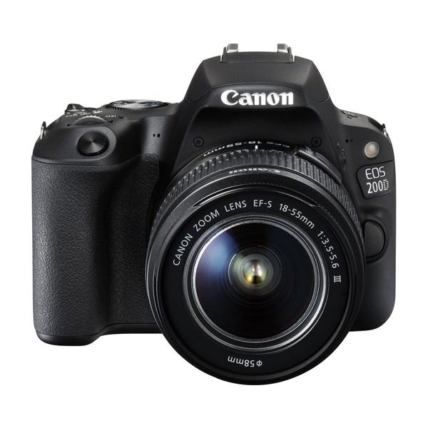 دوربین عکاسی کانن Canon 200D با لنز ۵۵-۱۸ used III