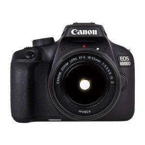 دوربین عکاسی کانن Canon 4000D با لنز ۵۵-۱۸ IS II
