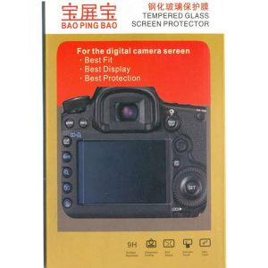 محافظ صفحه نمایش گلس دوربین کانن Lcd Screen Protector Canon 5D Mark IV