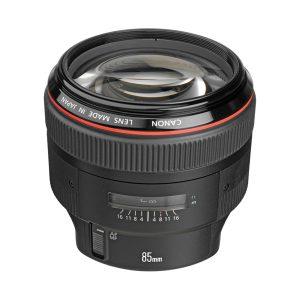 لنز کانن Canon EF 85mm f/1.2L II USM