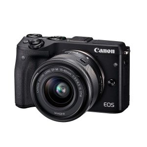 دوربین بدون آینه کانن Canon EOS M3 Mirrorless با لنز ۴۵-۱۵