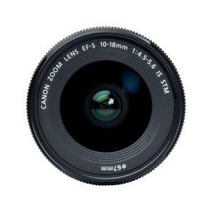 لنز کانن Canon EF-S 10-18mm f/4.5–۵٫۶ IS STM