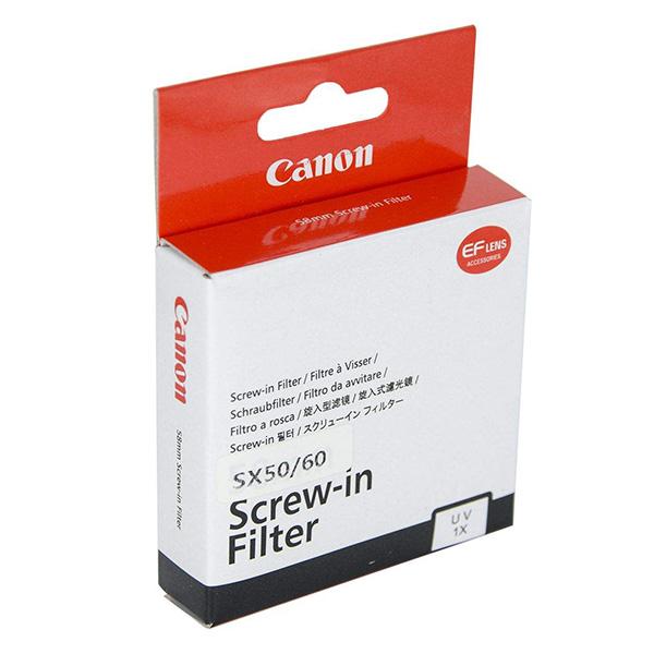 فیلتر یووی کانن Canon Screw-in UV Filter SX60
