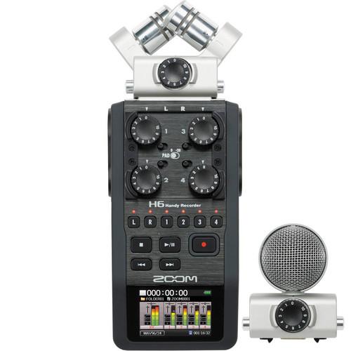 ویس رکوردر زوم Voice Recorder Zoom H6
