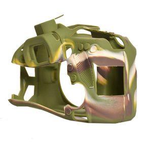 محافظ و کاور سیلیکونی دوربین عکاسی کانن ۸۰D ارتشی