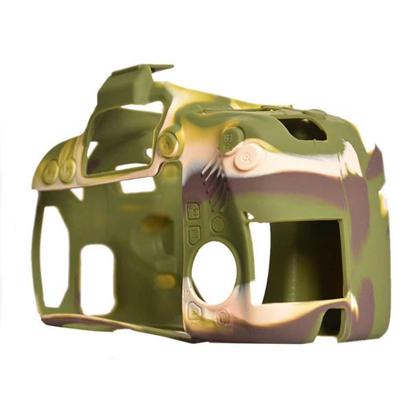 محافظ و کاور سیلیکونی دوربین عکاسی کانن ۸۰۰D ارتشی
