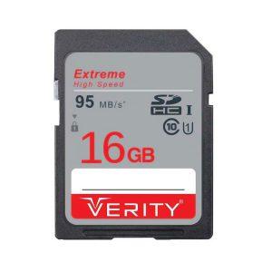 کارت حافظه اس دی SD Verity 16GB 633X U1
