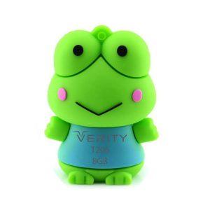 فلش مموری عروسکی ۸ گیگ وریتی مدل Flash Memory Verity T206 8GB USB2