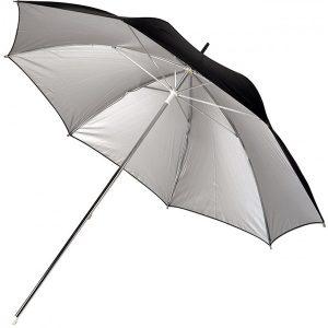 چتر آتلیهای نقرهای با قطر ۹۰ سانتیمتر Hama Umbrella Silver 90 cm