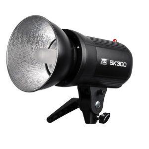 فلاش چتری استودیویی ۳۰۰ ژول S&S SK-300 II