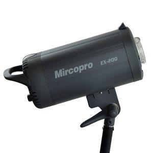 فلاش چتری استودیویی ۲۰۰ ژول Mircopro EX-200