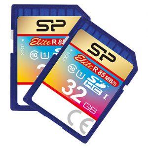 کارت حافظه اس دی سیلیکون پاور SD SiliconPowe 32GB U1 Elite 85mb ُ