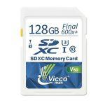 کارت حافظه SDHC ویکومن مدل Extra 600X کلاس ۱۰استاندارد UHS-I سرعت ۹۰MB/S U3 4K ظرفیت ۱۲۸ گیگابایت