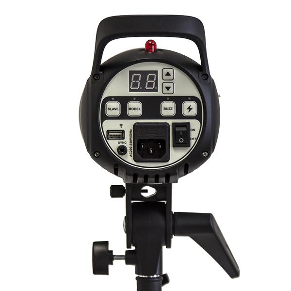 کیت فلاش چتری استودیویی ۲۰۰ ژول S&S SK-200
