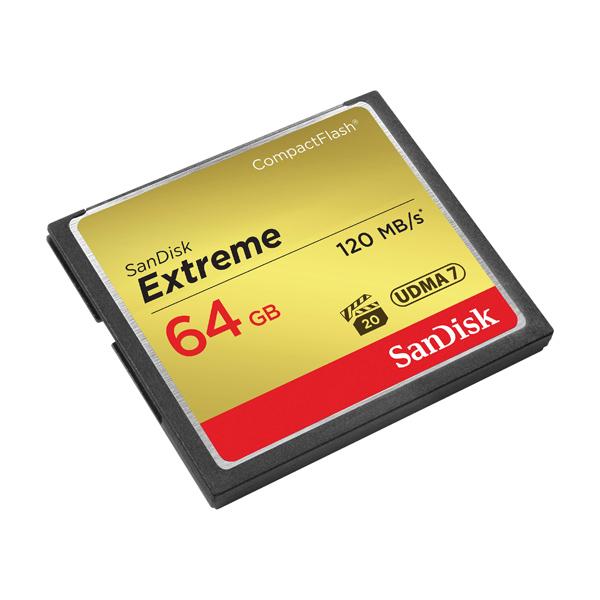 کامپکت فلاش سن دیسک CF Sandisk 64GB 800X
