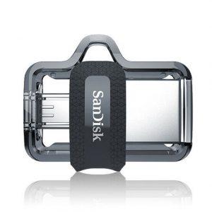 فلش مموری ۳۲G سن دیسک USB Flash OTG M3 Sandisk 32GB USB 3