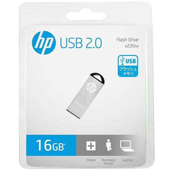 فلش مموری ۱۶G اچ پی USB Flash V220W HP 16GB USB 2