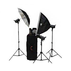 کیت فلاش استودیویی اس اند اس S&S 300J Studio Flash Kit VT-300