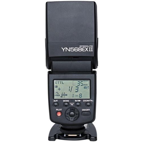 فلاش اکسترنال / فلاش روی دوربین کانن Yongnuo YN-568EX II Speedlite