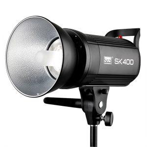 کیت فلاش چتری استودیویی ۴۰۰ ژول S&S SK-400