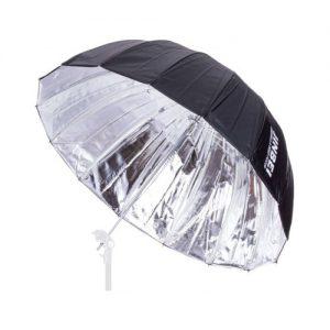 چتر آتلیه داخل نقره ای عمیق ۱۳۰ سانتی متر جینبی