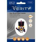 فلش مموری عروسکی ۱۶ گیگ وریتی مدل Flash Memory Verity T217 16GB USB2