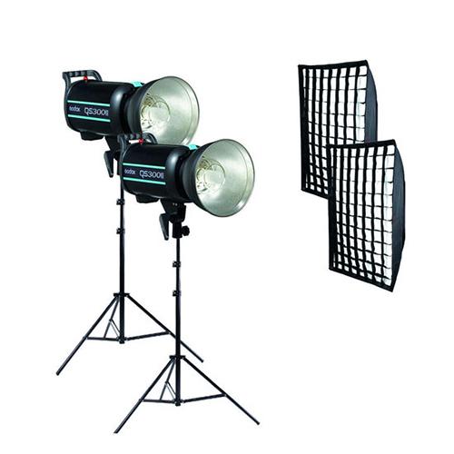 فلاش چتری استودیویی ۳۰۰ ژول Godox QS-300 II